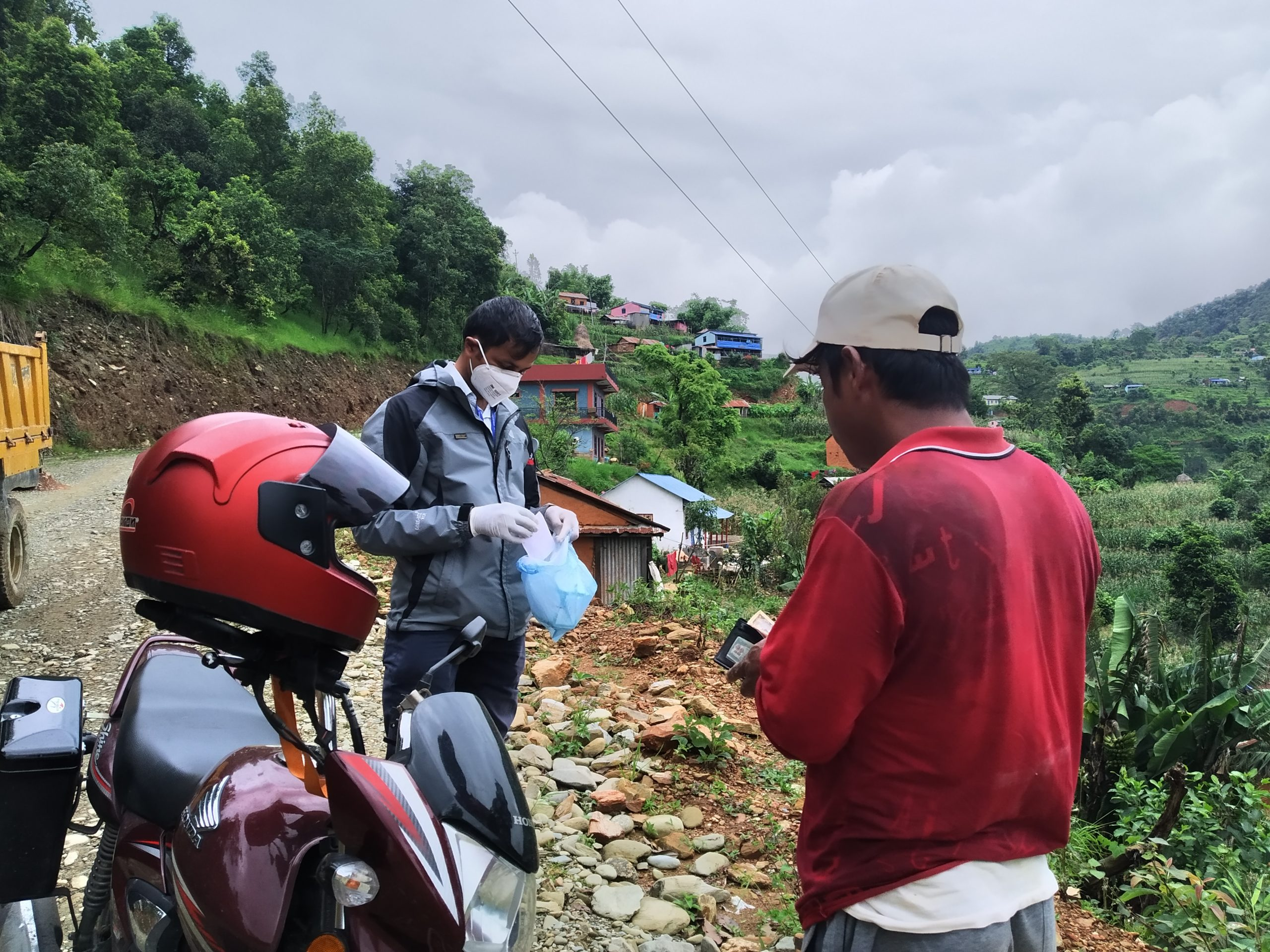 Helmet Doctor Project in Palungtar Municipality